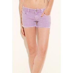 Guess Brittney Stretch Denim Cutoff Shorts